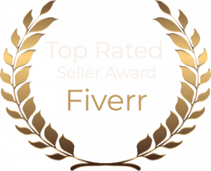 Top Rated Seller Award - Fiverr SEO